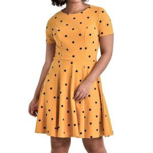 5X 30 UNIQUE VINTAGE Rockabilly Retro star dress